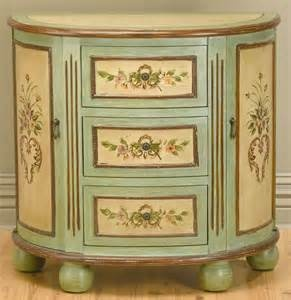 whimsical painted furniture - Yahoo! Image Search ResultsDoors Consoles, Improvements Products, Consoles Cabinets, Consoles Tables, Three Drawers, Pastel Green, Side Doors, Living Room Furniture, Antiques Ivory