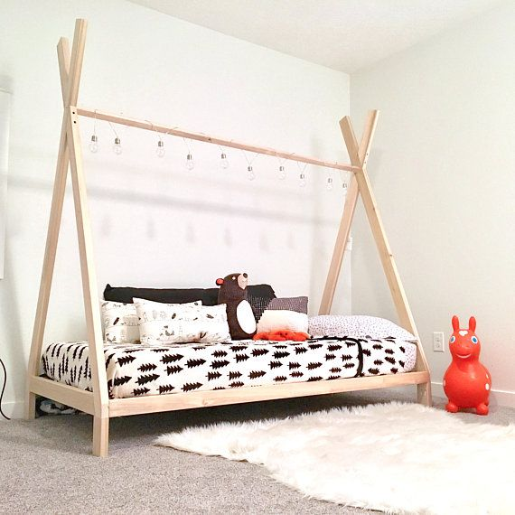 Teepee Bed Frame Twin Size Made In Us Twin Bed Frame Diy Twin