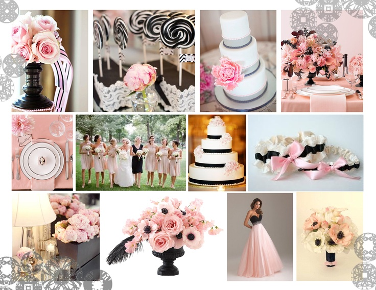 2013 Light Pink and Black Colour Trend