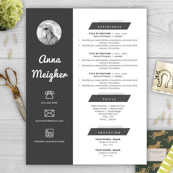 33 best CV and RESUME templates images on Pinterest - web designer resume template
