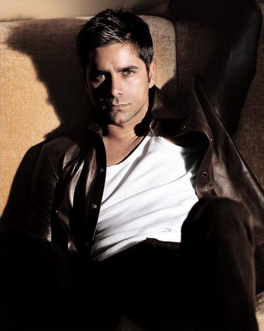 John Stamos -- I fell in love with him when he was on General Hospital back in the 80s