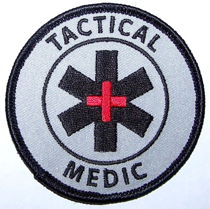 Tactical Medic Patch - Special Ops - Military - Airsoft - Police - EMS - SWAT in Collectables, Militaria, Other Militaria | eBay