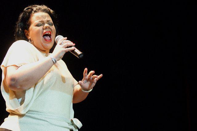 Oprahfication. Pic by Alana Aphoy. #ormondhall #villagemelbourne #cabaretfestival
