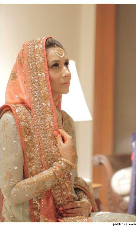 Pakistani brides- love the color