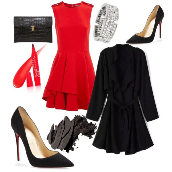 when your ex ask you to have lunch with him by ilmadhinautari on Polyvore featuring polyvore fashion style Alexander McQueen Christian Louboutin Cartier Bobbi Brown Cosmetics Pop Beauty