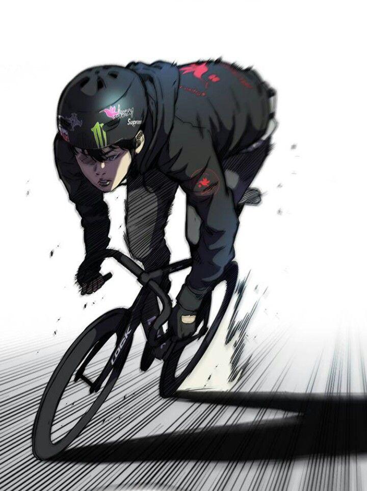 5de1ab52d Moptu - Chris Thomas - Speeding fixie rider