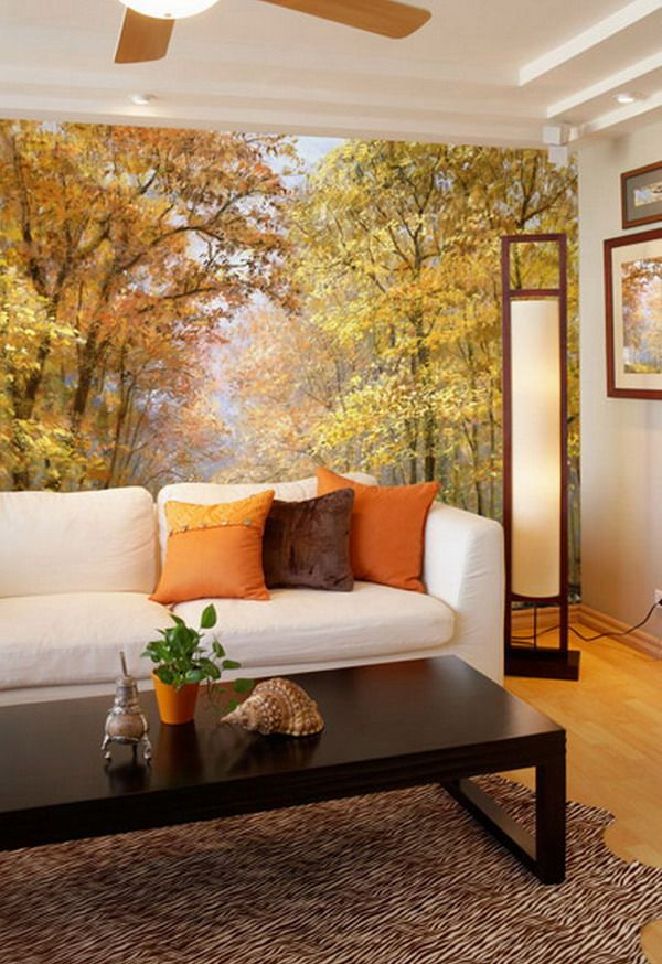 55 best nature wall murals images on Pinterest