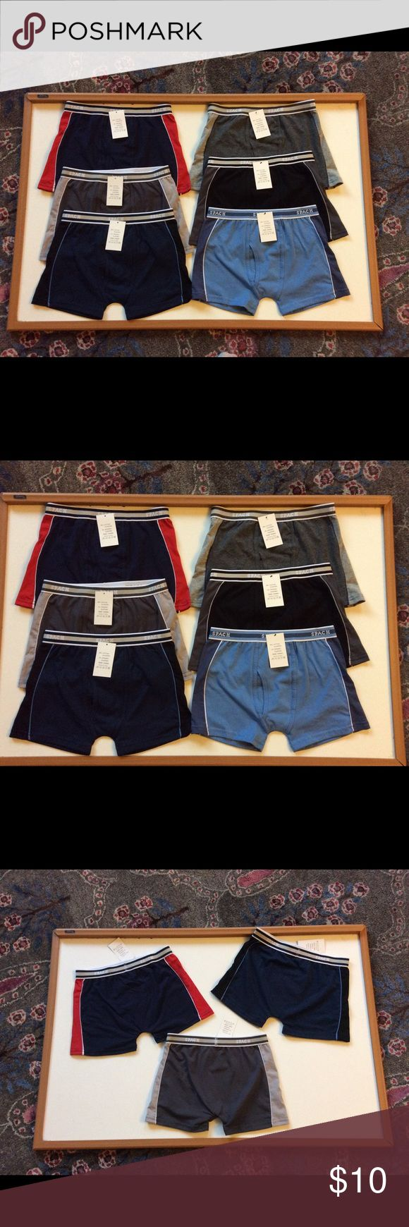 3 Quality Boy's SPACH BOXERS 6T 6T Great quality boy's boxers . Spanx brand which sells on amazon for way more! These will quickly become your son's favorites.  You get 3 for $10 with FREE SHIPPING.   Great deal Spach Accessories Underwear