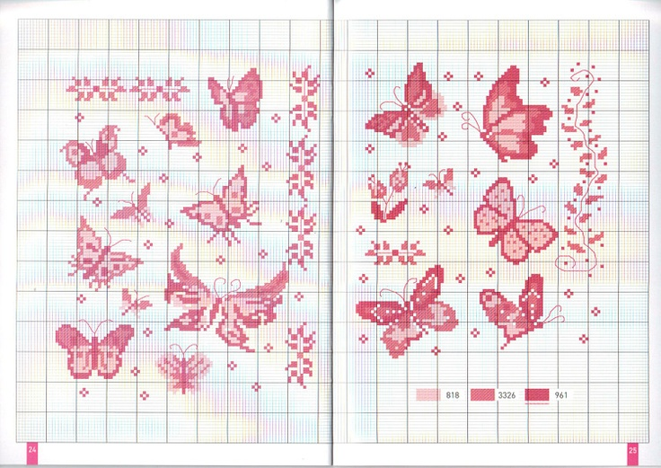butterfly - Gallery.ru / Фото #27 - Annick_ Abrial_1000_motifs_2010 - Los-ku-tik