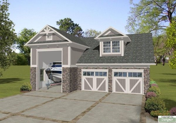 Best 25 boat garage ideas on pinterest house on a lake for Lake house plans with garage