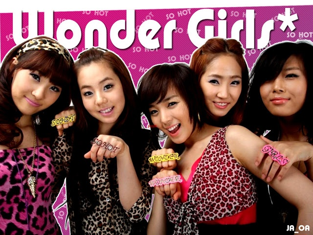 K•POP Idol Wallpaper: Wonder Girls Wallpaper find more in http://kpopidolwallpaper.blogspot.com