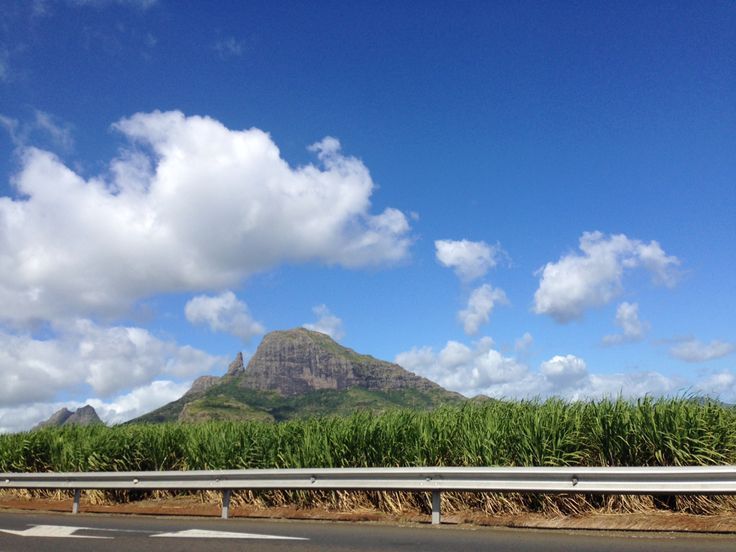 Clear blue Mauritian skyline..want to go back!