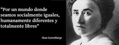 Caminos del viento: Rosa Luxemburgo.