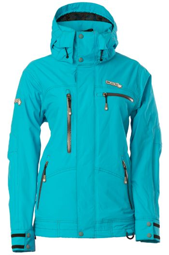 DIVAS AVID TECHNICAL NEOSHELL® JACKET (2016). #Blue, So cute. Can't get enough of this one! #Uninsulated #Shell