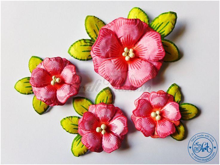 Craft Stamp Flowers no.2 Craft Passion