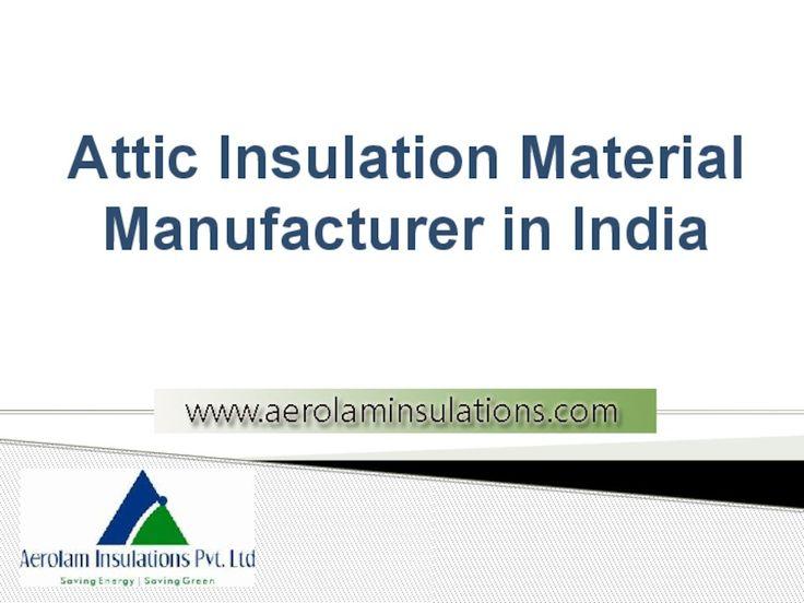 #Attic_Insulation Material | Insulating an Attic