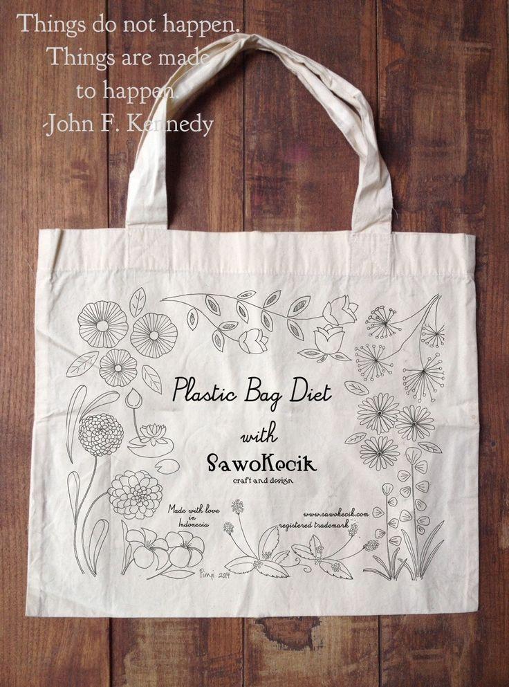 Plastic Bag Diet with SawoKecik