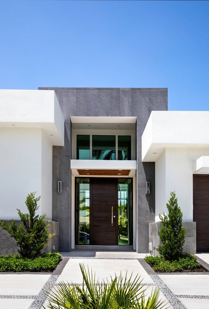 49 Most Popular Modern Dream House Exterior Design Ideas 3: 17 Irresistible Contemporary Entry Designs You Can't Not Love