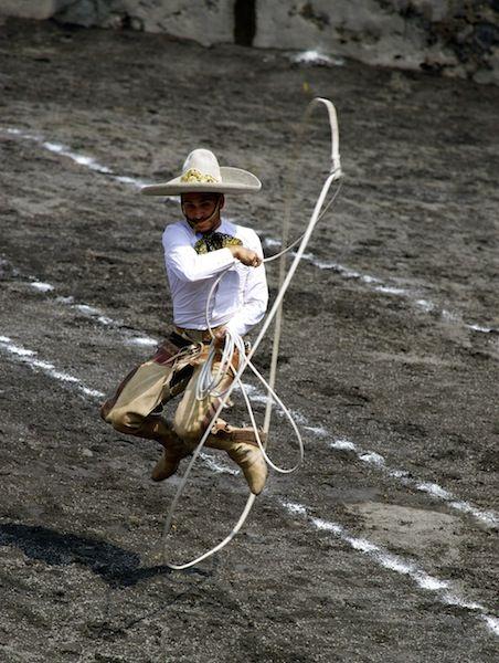 The skill of a Charro