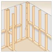 How To Frame A Basement Wall how to build & panel an interior wall | interior walls and basements