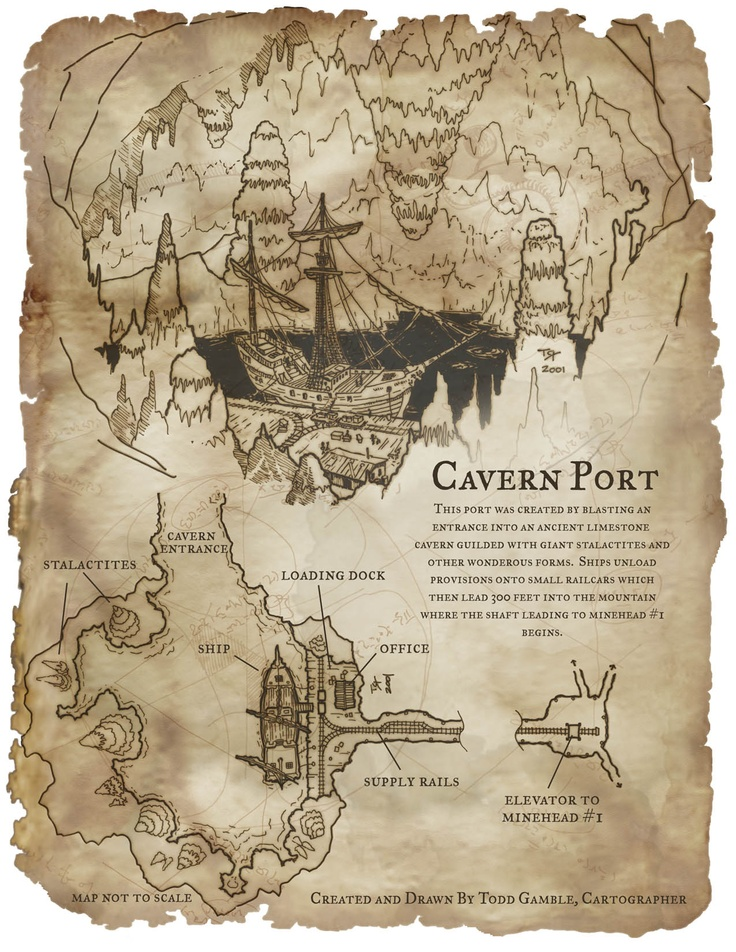 Map - Caverne