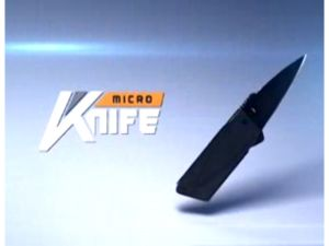 credit card micro knife