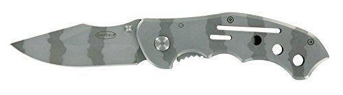 Sheffield Dark Steel Folding Pocket Knife