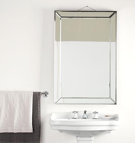 Beveled Frame Mirror