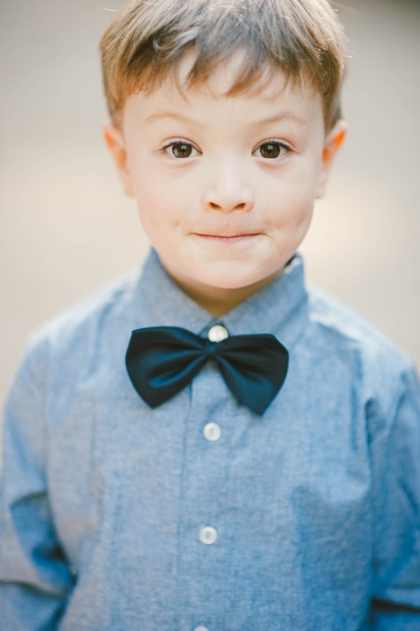 baby bow tie! For ring bearer ☺