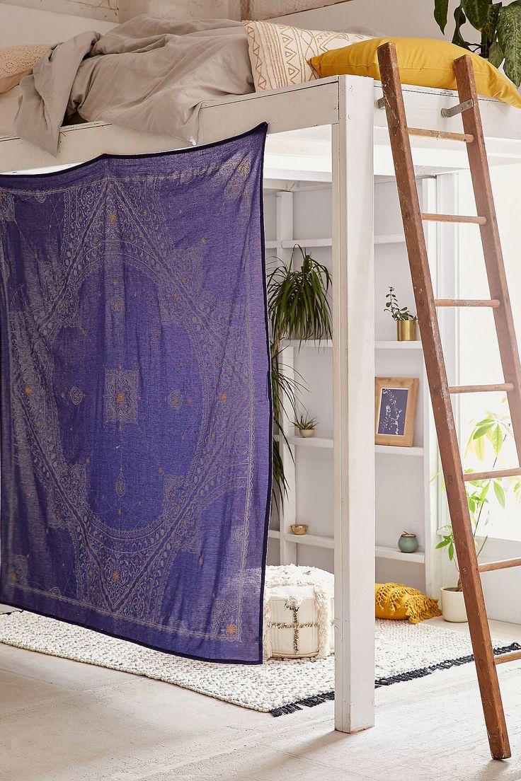 Slide View: 1: Celestial Medallion Tapestry