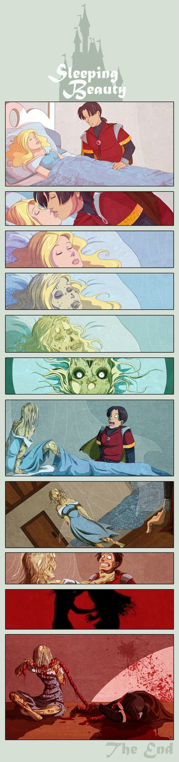 How Sleeping Beauty should have ended.
