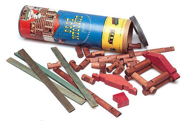 Lincoln Logs Lincoln logs, Old toys, The good old days