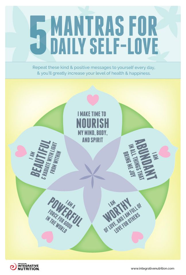 Today's self-love tip: make time to nourish your mind, body, and spirit. Check out this awesome guide to discover even more ways to create a positive relationship with yourself.