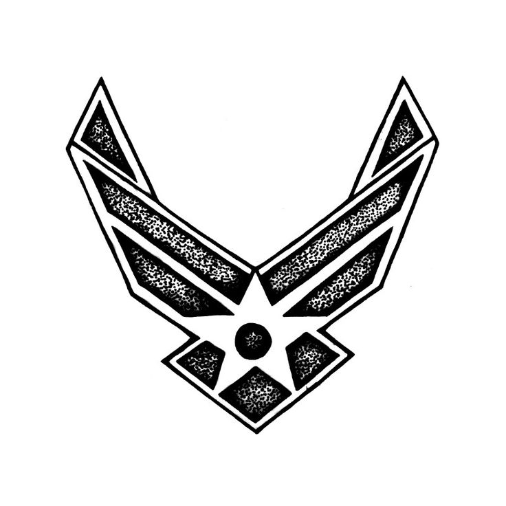 Air Force Tattoos | Air Force Transfer Tattoo | TEMPTU