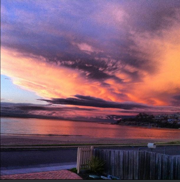 Blackmans Bay Beach Tasmania.