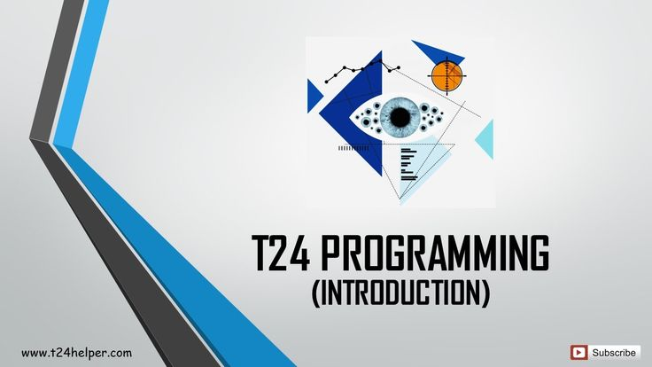 T24 Core Banking System - Programming Introduction