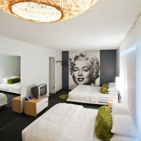 Marilyn Monroe Hotel Themed Room Homedit.com Part 53