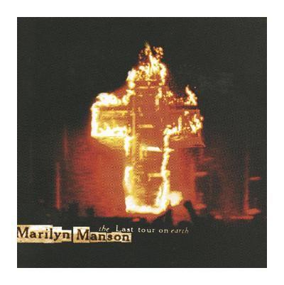 """L'album di #MarilynManson intitolato """"The Last Tour On Earth""""."""
