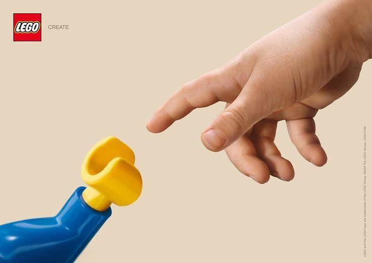 LEGO 'create' : La création d'Adam, revue par LEGO