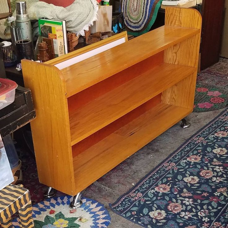 Oak Bookcase, $153.