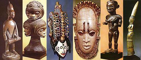 Esculturas e Máscaras Africanas - Artistas Anônimos