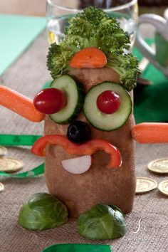 fun activity playing off the potato for a St. Patrick's Day gathering