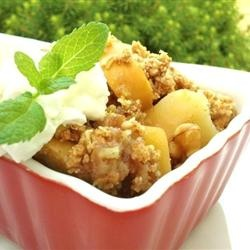 Healthier Apple Crisp II- from Allrecipes.com