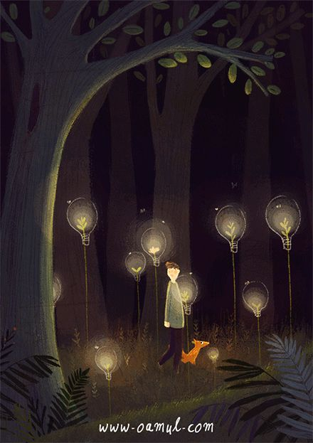 Lovely animations by Chinese illustrator Oamul