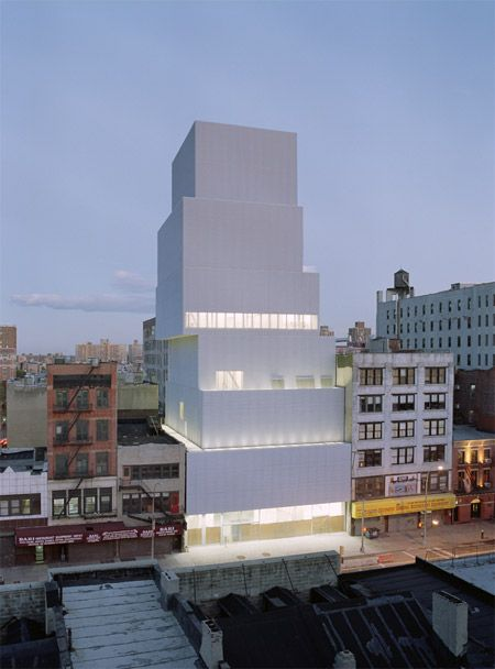 New Museum of Contemporary Art in New York by Kazuyo Sejima + Ryue Nishizawa/SANAA