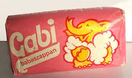 Gabi baby soap - Hungarian retro