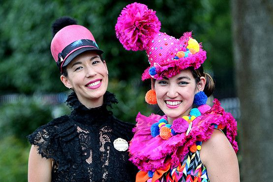 PICTURES: Exotic hats dominate Royal Ascot 2015