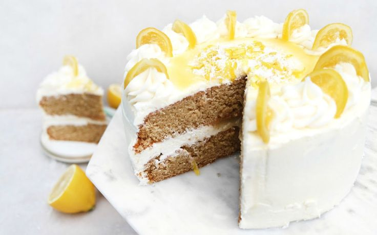 Lemon and Coconut Cake This dreamy, moist, and ultra zesty cake is vegan, gluten and wheat-free, packed full of flavor, and infused with real lemons.