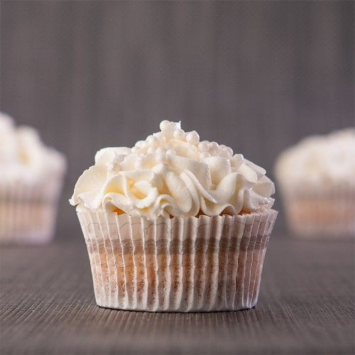 White Wedding Cupcakes (Gluten Free)
