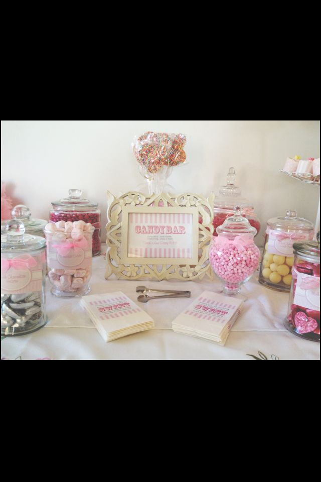Candy Buffet Hire available on the Gold Coast! Perfect for Bridal Showers, Baby Showers, Weddings, Engagement Parties, Hens Parties, Birthdays and more! Email info@cherishonline.com.au for more information xx